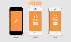 "Nick Tucker '15: ""Design Scout"" App 1"