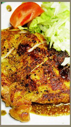 皮パリパリッ!鶏もも肉ステーキの焼き方! by しるびー1978 [クックパッド] 簡単おいしいみんなのレシピが219万品