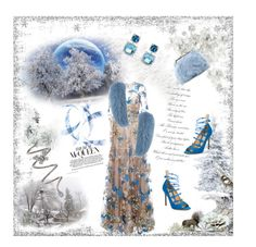 """""""Something old, something blue...."""" by nannerl27 ❤ liked on Polyvore featuring Weekend Max Mara, Gianvito Rossi, David Yurman, Stéfère and Forever 21"""