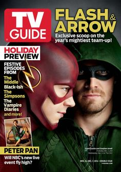 ARROW And THE FLASH Team-Up On Latest TV Guide Cover