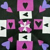 Artsonia Art Exhibit :: valentine radial hearts grade 4