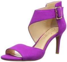 Talking of Cinderella, how about these #Pink Dress Sandal for the Ball?  Jessica Simpson Women's Marrionn Dress Sandal,Twilight Magenta Elko Nubuck,5 M US Jessica Simpson,