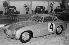 1952 Carrera Panamericana winning Mercedes-Benz 300SL, Frankfurt show, 1953