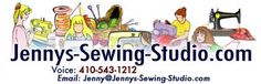 Jenny's Sewing Studio, free embroidery files