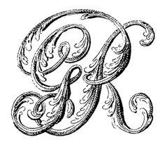 VintageFeedsacks: Free Vintage Clip Art - Vintage Royal Coat of Arms of the United Kingdom Font Design, Typography Design, Calligraphy Letters, Typography Letters, Monogram Fonts, Monogram Letters, Vintage Typography, Free Graphics, Typography Inspiration