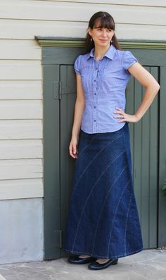 Deborah and Co. - Rainbow Denim Skirt , $44.95 (http://www.deborahandco.com/rainbow-denim-skirt/) On sale June 27th and 28th only!