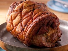 Fresh Ham with Tuscan Bread Stuffing