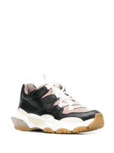 Valentino Valentino garavani bounce low-top sneakers in Pink Sneakers For Sale, High Top Sneakers, Go Logo, Valentino Sneakers, Valentino Garavani, Things That Bounce, Lace Up, Heels, Pink