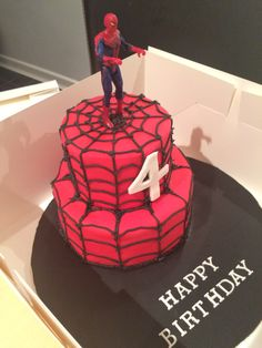 Die 15 Besten Bilder Von Spiderman Kuchen Spider Man Cakes