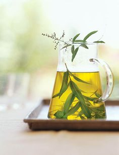 Lemon Verbena Tisane • 12 sprigs fresh lemon verbena or the peel of ...