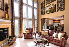 Lauren Nicole Designs | Family Room Interior Design Charlotte NC Lake Norman