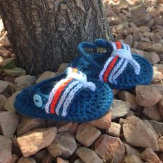 Crochet Baby Flip Flop Sandals by RibbonYarnGalore on Etsy