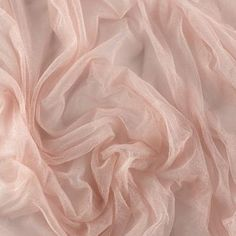100 French silk tulle pale pink priced by MorganBridalSupplies, Rose Pale, Pale Pink, Pink Roses, Pale Aesthetic, Classy Aesthetic, French Silk, Tulle Fabric, Pink Tulle, Pink Lips