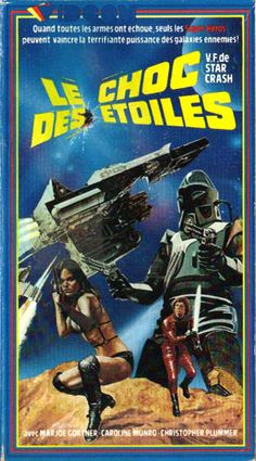 Starcrash French VHS cover