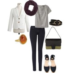 """""""Summer Fall Transition"""" by pursuit-of-chic on Polyvore"""