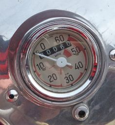 BMW Isetta speedometer