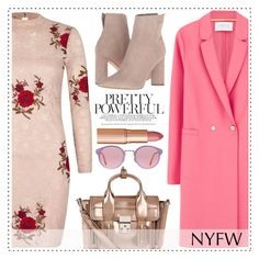 """""""Pack for NYFW"""" by alaria ❤ liked on Polyvore featuring River Island, Harris Wharf London, 3.1 Phillip Lim, RetroSuperFuture, Kendall + Kylie, Charlotte Tilbury and NYFW"""