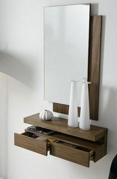 consolas de madera modernas - Buscar con Google