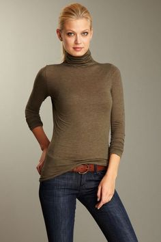 I don't like turtlenecks, but this one looks great