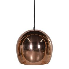 Copper Pendant Bowl Light Fitting and Flex: Copper Pendant Bowl Light Fitting and Flex. Black flex to be wired into the ceiling by a qualified person.