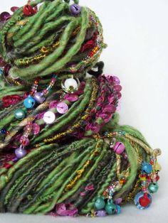 yarnmantra's GUNJAN handspun yarn... item sold, so the trackback link my cease to exist, eventually.