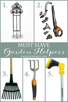 5 Ways to Simplify and Enjoy Your Summer Garden | Tips from a DIY gardener to make your gardening chores easier and quicker. List of budget-friendly tools included.
