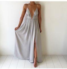 LJ54 Sexy Prom Dress,Deep V Neck Prom Dress,Chiffon