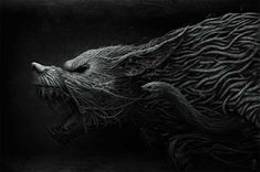 Creative and Scary Illustration by ANTON SEMENOV - animhut