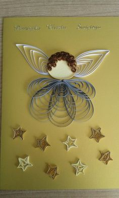 Quilling angel