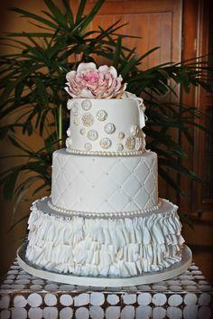 Sandra's Cakes: Vintage Wedding Cake