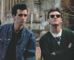 Johnny Marr + Morrissey