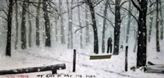 My Kind Of Day For Sure. Print from an oil painting by Peter brook. Cookhouse Gallery