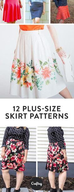 Getting the right fit is key for skirt patterns, and that means considering both waist and hip measurements. Try sewing up one of these 12 skirt patterns for the perfect look and fit.