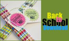 tons of back to school printables