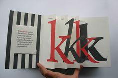 Kevin Steele3 Brush Lettering, Hand Lettering, 3d Design, Book Design, Pop Up, Communication Process, Why Book, Paper Engineering, Letter Form