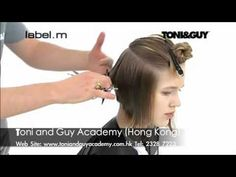 Toni and Guy Inverted Bob How-to