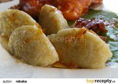 Chlupaté knedle recept - TopRecepty.cz Baked Potato, Sweet Potato, Gnocchi, Dumplings, Side Dishes, French Toast, Food And Drink, Pasta, Baking