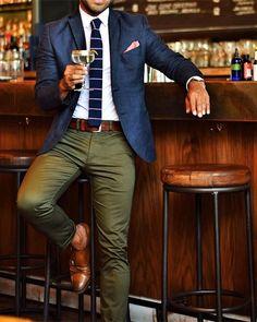 Blazer outfits men - 45 Brilliant Men's Color Combinations Outfit for Winter Blazer Outfits Men, Casual Outfits, Blue Blazer Outfit Men, Green Blazer Mens, Chinos And Blazer Men, Green Chinos Men, Green Pants Men, Green Pants Outfit, Olive Chinos