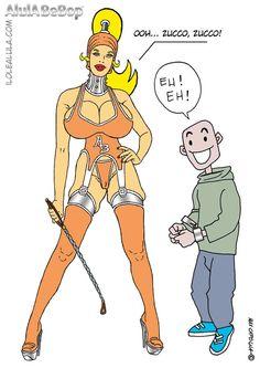 AlulA BeBop e Zucco  Big Boobs - Comics - Fumetti - Fetish.