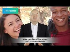 PassiveADShare Pays 2% Daily Passive Income Passive Income, Social Networks, Youtube, Youtube Movies