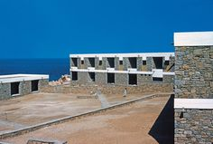 Hotel Xenia, Andros, Greece, by Aris Konstantinidis