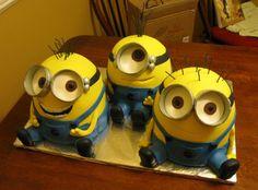Lisa's b- day Despicable Me Minion Cake