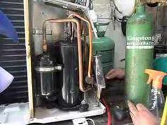 aire acondicionado soldadura de compresor 3000 - YouTube