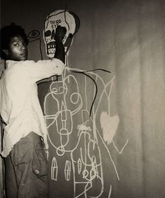basquiat, one of the best. also coming to a UNIQLO UT Tee very soon #illustrations #basquiat #art