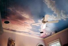 3D+Wall+Murals | Wall Murals > Bedroom Ceiling