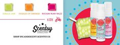SCENTSY SPRING / SUMMER 2016 KIDS FRAGRANCES