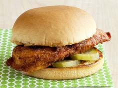 Almost-Famous Chicken Sandwiches Recipe : Food Network Kitchen : Food Network - FoodNetwork.com