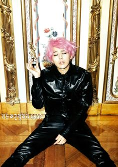 G-Dragon for Harper's Bazaar Korea