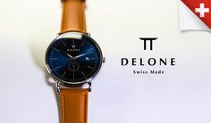 ByJovan Krstevski  Delone Watches, a start-up founded by Arkadiy Barabanov in Berlin, Germany wants to bring back quality at a low cost. We all know that to cut costs and maximize profits, most manufactures turn to