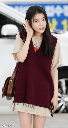 Korean Singer, Pop Fashion, Aesthetic Clothes, Kpop, Actresses, Shirt Dress, Casual, People, Shirts